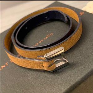 WANT LEV leather bracelet